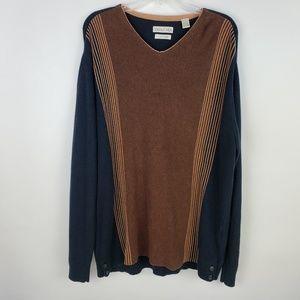 Tehama V-Neck Cotton Cashmere Sweater Machine Wash